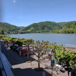 The view from my Rhine-facing room.