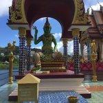 Uma variação do Buda - verde