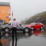 Sports Cars on Simplon Pass