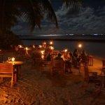 Moonlight-Dinner am Strand