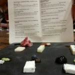Out of This World Cheese Pairing (Class) platter. Partial picture, there are 8 cheeses total.