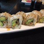 eel & avocado roll