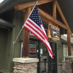 Caliber Coffee Roasters storefront in Big Sky, MT