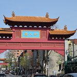 The ChinaTown street in Montreal!