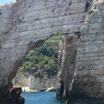 Large stone arch/bridge
