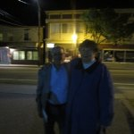 Louis and I leaving Arctic Playhouse in West Warwick, R.I.