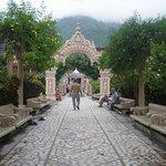 Entrance to the Ashram
