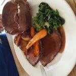 roast beef and roast pork pudding bannoffe