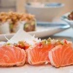 tataki de salmon...toda una delicia
