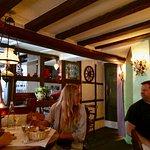 Inside of restaurant.