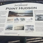 An interesting historical perspective of site where tour is located in Port Townsend.