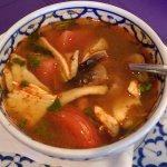 Lemon Grass Soup w/ chicken