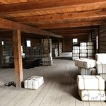 40 lb. water-resistant packages of furs fill this warehouse (& attic)