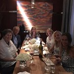 We had one more person, but the private dining room was perfect for our group.