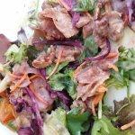 Repas filet 2 tranche de boeuf avec des frite délicieux  perigourdine un délice avec sont foie g
