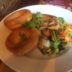 Fabulous roast dinners! 😊 Trio roast and the pork, lovely atmosphere, would highly recommend