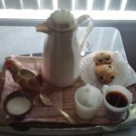 our complimentary coffee tray!!