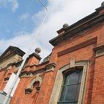 Victorian facade.