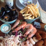 Seafood platter - well worth it