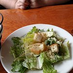 Buckley's in Merrimack, NH.. Caesar Salad. Very tasty.