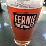 Fernie Brewing's What the Huck on Tap at Alexander's