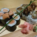 Salmon and Soft-shell Crab Maki