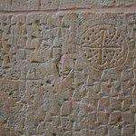 Church of the Holy Sepulchre - pilgrim marks