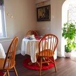 cheerful room with wonderful setting