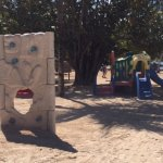 Here is the playground at the beach at Casa De Campo.