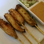 Chicken Satay (tough)