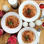 Best Spaghetti and Meatballs you will find in Vietnam