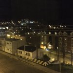 View to the north east at night from our 1st floor room