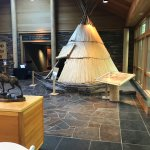 Display area on Native Peoples