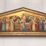 Die Grablegung Mariae Altarretabel Giotto di Bondone