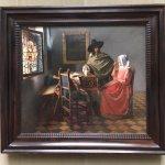 Das Glas Wein Bild Johannes Vermeer