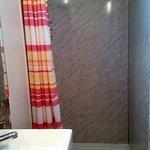 Cosy showercubicle
