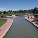 Historic Arkansas Riverwalk of Pueblo Foto