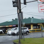 Ken's House of Pancakes: 1730 Kamehameha Avenue, view from intersection at Banyan drive