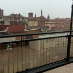 Panaromic views from roof top restaurant