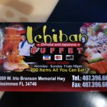 If in Kissimmee, You'll Want to Check Out this out - a Bargain. Lots Food Choices. Drinks are Ex