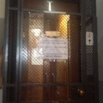 Very antique century old good maintenance lift. I like it. Still working well.