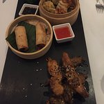 Asian Platter for two (minimum order of 2 dishes) 14 Euros pp (Euro 28)