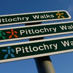 Pitlochry, walking central