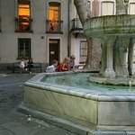Fountain in the square - great for children