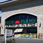 entrance to Fresh Farms