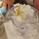 Palate cleansing sorbet