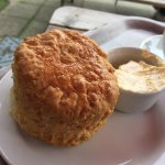Cheese Scone with Flora - £1:40
