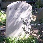 Tomba dell'attore Arnoldo Foà