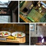 Collage photo of the restaurant TerraVino.