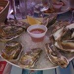 9 huîtres s n° 3 dans le menu du Pélerin